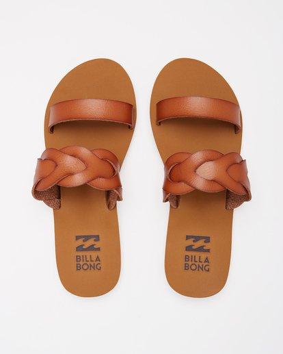1 Shelly Double Strap Sandals Beige ABJL200030 Billabong