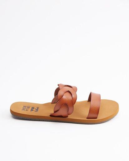 4 Shelly Double Strap Sandals Beige ABJL200030 Billabong