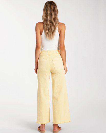 3 Free Fall Pant Yellow ABJNP00126 Billabong