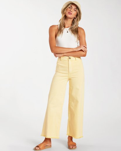 0 Free Fall Pant Yellow ABJNP00126 Billabong