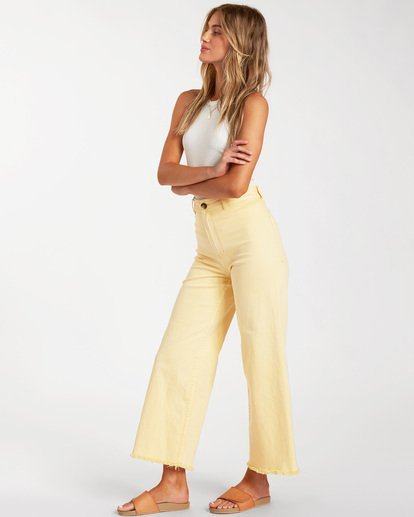 2 Free Fall Pant Yellow ABJNP00126 Billabong
