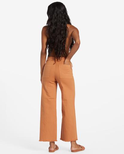 3 Free Fall High-Waist Pants Multicolor ABJNP00126 Billabong