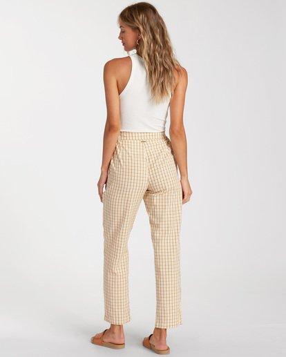 2 Checkmate Cropped Pants Grey ABJNP00137 Billabong