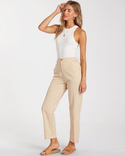 1 Checkmate Cropped Pants Grey ABJNP00137 Billabong