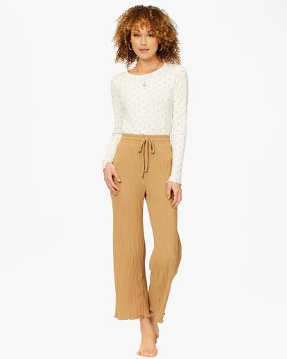 1 Keep Loungin' Knit Pants Brown ABJNP00205 Billabong