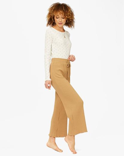 2 Keep Loungin' Knit Pants Brown ABJNP00205 Billabong