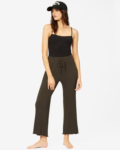 0 Keep Loungin' Knit Pants Black ABJNP00205 Billabong