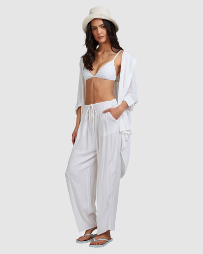 2 Beach Dream Pants White ABJNP00253 Billabong