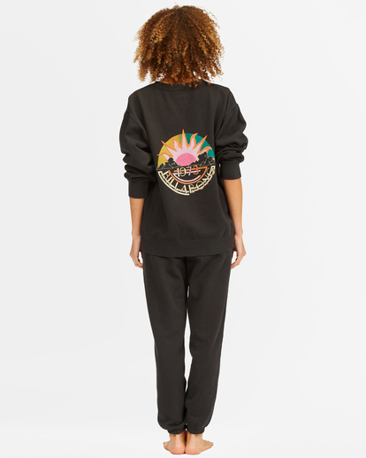5 Surf Vibe Tie-Dyed High-Waist Sweatpants Black ABJNP00270 Billabong