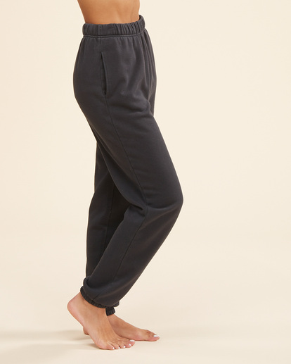 1 Surf Vibe Tie-Dyed High-Waist Sweatpants Black ABJNP00270 Billabong