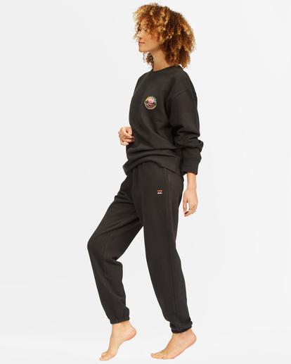 2 Surf Vibe Tie-Dyed High-Waist Sweatpants Black ABJNP00270 Billabong