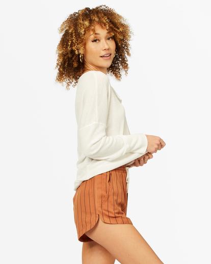 1 Road Trippin' Yarn-Dyed Elastic Shorts Brown ABJNS00100 Billabong
