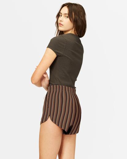 2 Road Trippin' Yarn-Dyed Elastic Shorts Multicolor ABJNS00100 Billabong