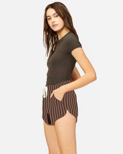 1 Road Trippin' Yarn-Dyed Elastic Shorts Multicolor ABJNS00100 Billabong