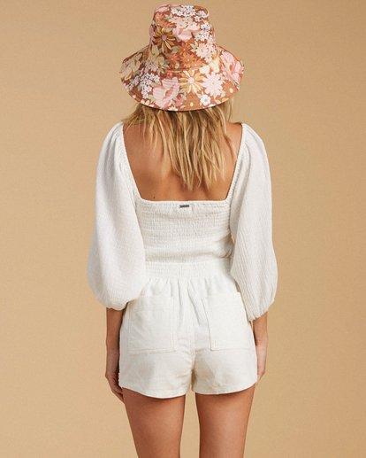 3 Salty Blonde Low Down Corduroy Shorts White ABJNS00116 Billabong