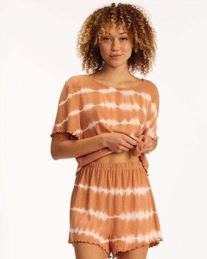 0 Breeze By Knit Shorts Brown ABJNS00125 Billabong