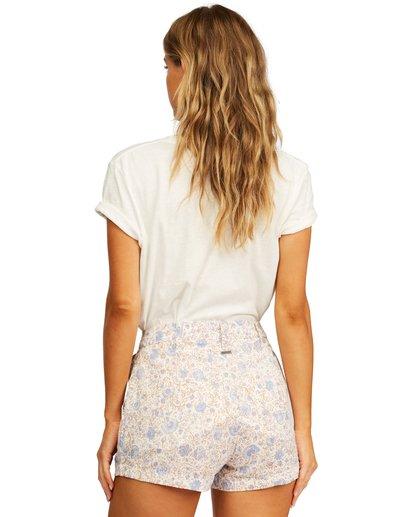 3 Laced Up Shorts White ABJNS00153 Billabong