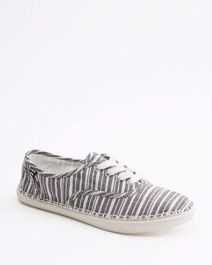 3 Juno Canvas Shoe Black ABJS300014 Billabong
