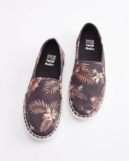 0 Del Sol Slip-On Shoe Black ABJS300015 Billabong