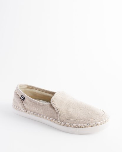 1 Del Sol Slip-On Shoes White ABJS300015 Billabong