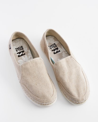 0 Del Sol Slip-On Shoes White ABJS300015 Billabong