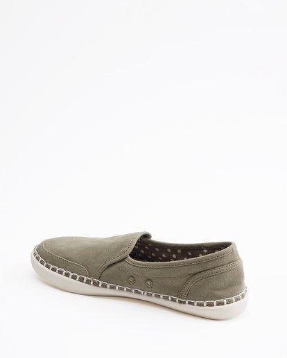 3 Del Sol Slip-On Shoe Green ABJS300015 Billabong