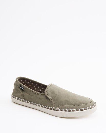 2 Del Sol Slip-On Shoe Green ABJS300015 Billabong