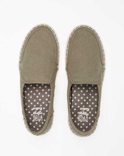 1 Del Sol Slip-On Shoe Green ABJS300015 Billabong