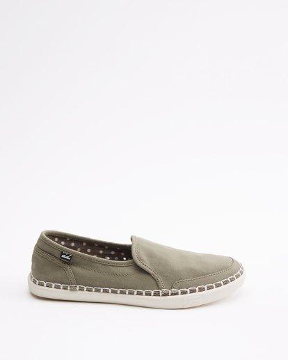 4 Del Sol Slip-On Shoe Green ABJS300015 Billabong