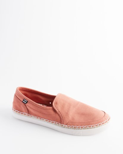 1 Del Sol Slip-On Shoes Orange ABJS300015 Billabong