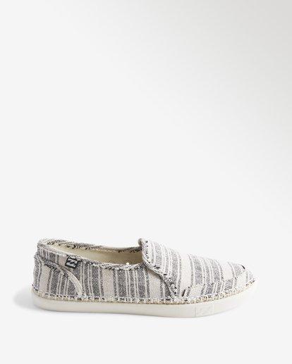 3 Del Sol Slip-On Shoe White ABJS300015 Billabong
