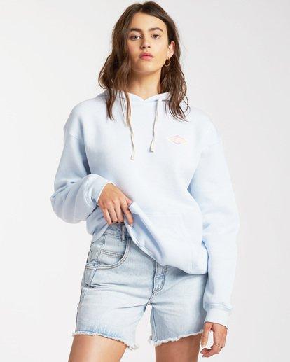 0 Cut Back Pullover Sweatshirt White ABJSF00112 Billabong