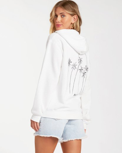 1 Sun Kissed Pullover Sweatshirt White ABJSF00113 Billabong