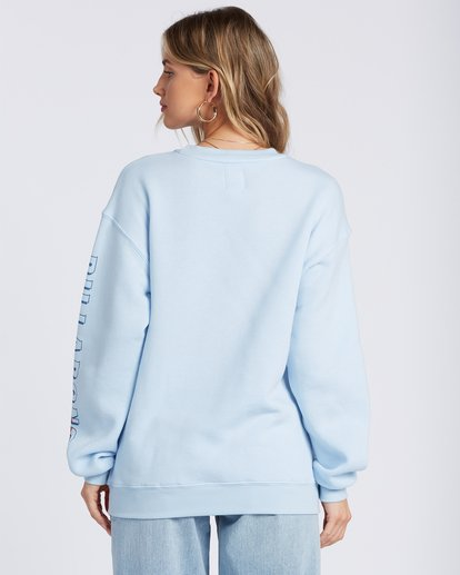 2 Sunset And Waves Hoodie Blue ABJSF00121 Billabong
