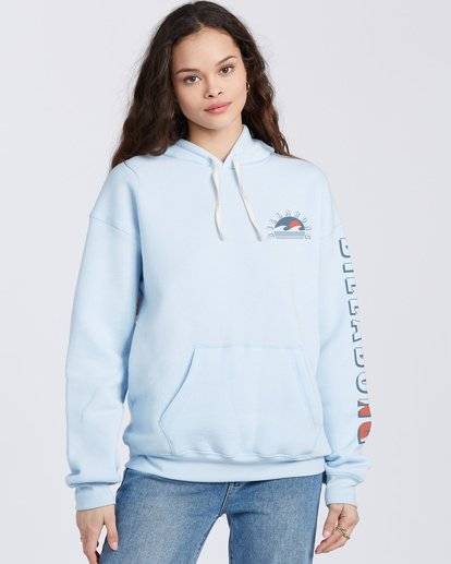 0 Sunset And Waves Hoodie Blue ABJSF00121 Billabong