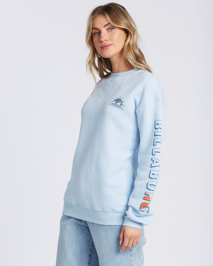 1 Sunset And Waves Hoodie Blue ABJSF00121 Billabong