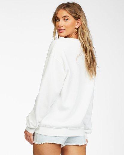 2 Best Of Times Sweatshirt White ABJSF00136 Billabong