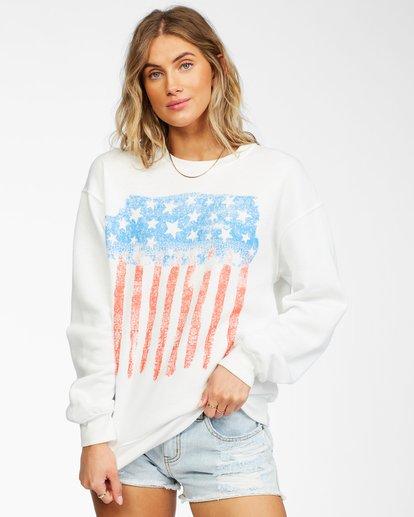 0 Best Of Times Sweatshirt White ABJSF00136 Billabong