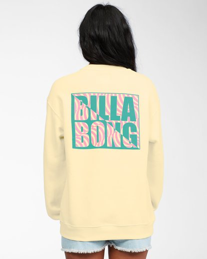 2 Tropic Shore Sweatshirt Yellow ABJSF00137 Billabong