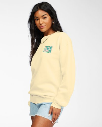 1 Tropic Shore Sweatshirt Yellow ABJSF00137 Billabong