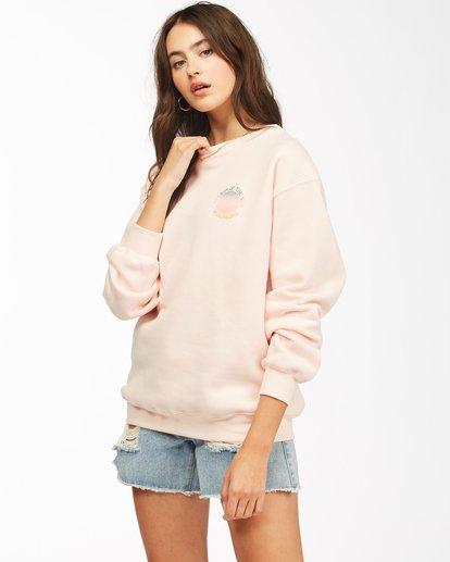 1 Season Of The Sun Crewneck Sweatshirt Pink ABJSF00149 Billabong