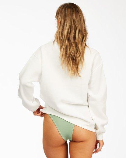 2 Best Of Times Crewneck Sweatshirt White ABJSF00150 Billabong