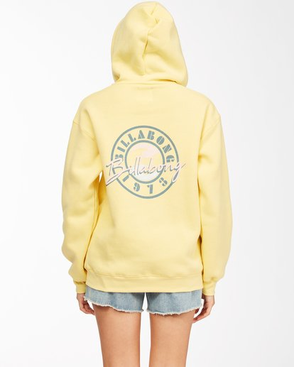 2 Way To Go Pullover Hoodie Yellow ABJSF00152 Billabong