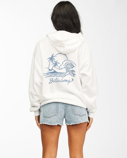 1 Live By The Tides Pullover Hoodie White ABJSF00154 Billabong