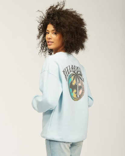 3 Sea Dreams Crew Neck Sweatshirt Multicolor ABJSF00163 Billabong