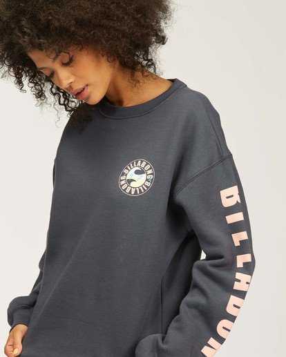 1 Beach Bound Crew Neck Sweatshirt Blue ABJSF00167 Billabong