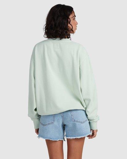 2 Palm Vibes Sweatshirt Green ABJSF00211 Billabong