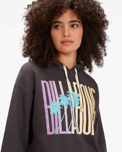 3 Sun Club Pullover Hoodie Black ABJSF00252 Billabong