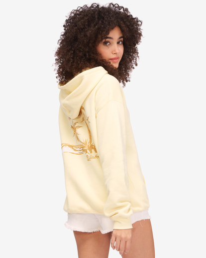 2 Sunny Palms Hoodie Yellow ABJSF00322 Billabong