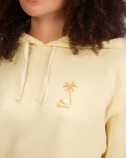 4 Sunny Palms Hoodie Yellow ABJSF00322 Billabong